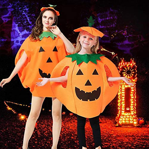 Pumpkin Costume Anlising Pumpkin Costume For Kids Halloween Pumpkin Costume Pumpkin Costum Cute Cosplay Party Perfect Halloween Children's Gift ()