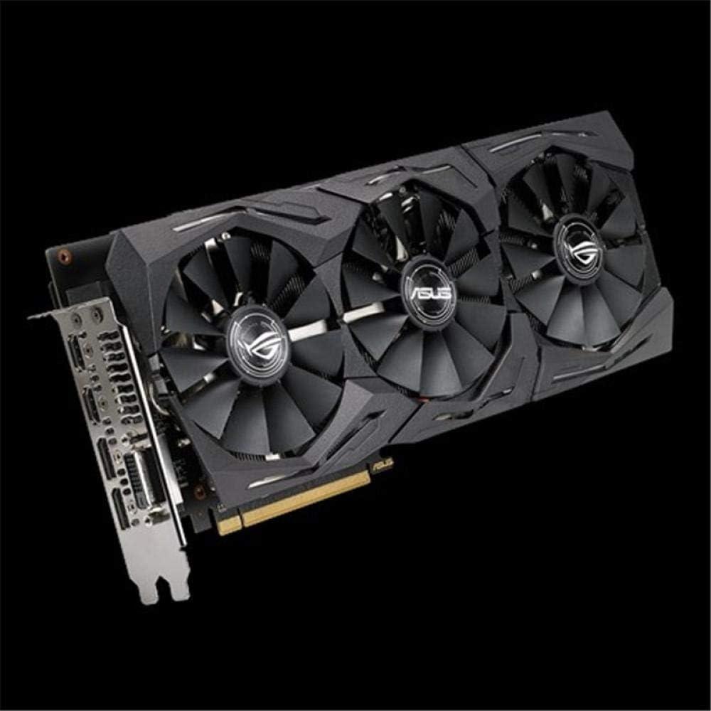 GUOJIAYI ASUS ROG-STRIX-RX580-O8G-GAMING Graphics card OC Edition GDDR5 8GB DP HDMI DVI AMD Radeon RX 580 Video Card