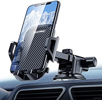 DesertWest Dashboard Car Phone Mount Compatible with iPhone & Smartphone