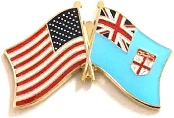FIJI Fijian Country Metal Flag Lapel Pin Badge *NEW*