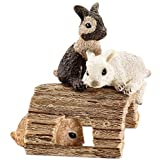 Schleich 13748 - Spielende Kaninchenjungen, Minifigur