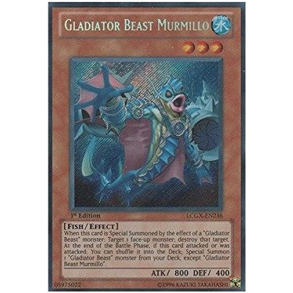 Yugioh Gladiator Beast Secutor GLAS-EN024 NM//MINT Common 3X Unlimited