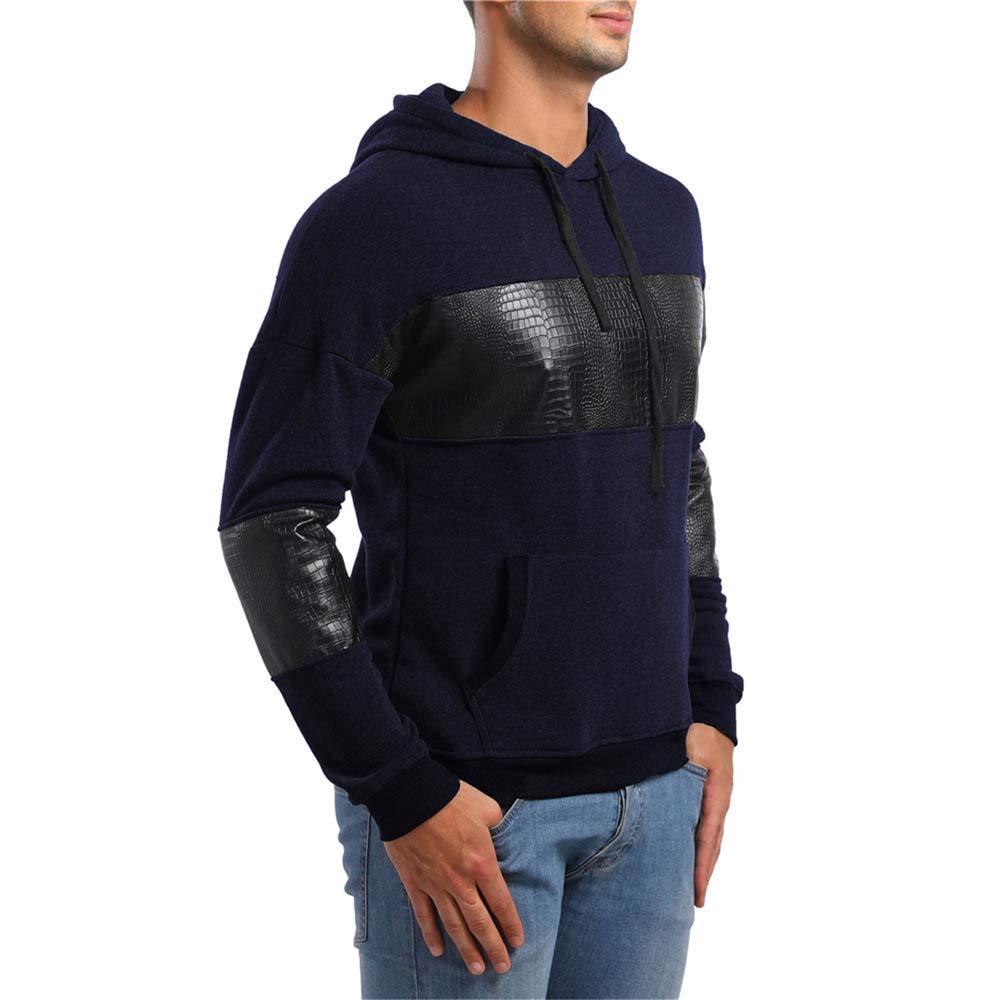 Yvelands Active Sweaters, Ropa de Hombre Ofertas Bolsillos Hoodie Sudadera con Capucha Top tee Outwear Blouse Hot: Amazon.es: Ropa y accesorios