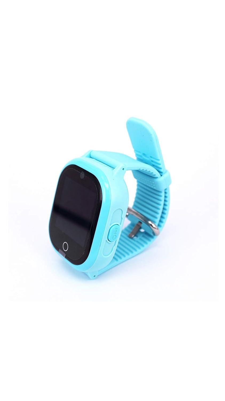 タッチスクリーン子供の携帯電話の時計の深さ防水&磁気充電スマートブレスレット  Blue B07PLVCJ9N