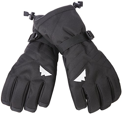 Tough-Outdoors-Winter-Snow-Ski-Gloves-Designed-for-Skiing-Snowboarding-Shredding-Shoveling-Snowballs-Waterproof-Windproof-Nylon-Shell-Synthetic-Leather-Palm-Fits-Men-Women-and-Kids