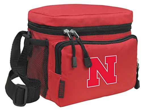 Broad Bay Nebraska Huskers Lunch Bags NCAA University of Nebraska Lunch Boxes