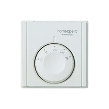 Homexpert THR830TBG Honeywell Termostato de ambiente analógico Blanco: Amazon.es: Hogar