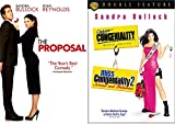 Sandra Bullock The Proposal & Miss Congeniality Deluxe + 2 Armed and Fabulous DVD Triple Feature Girls Night Movie Set
