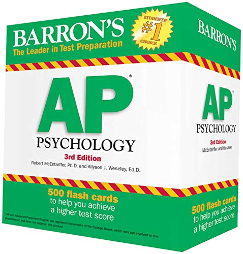 Pdf Teen Barron's AP Psychology Flash Cards