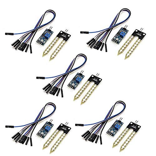 HiLetgo 5pcs LM393 Soil Moisture Sensor Automatic Watering System for Arduino