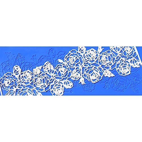 Santa Rosa Silicone Lace Mat by Crystal Candy