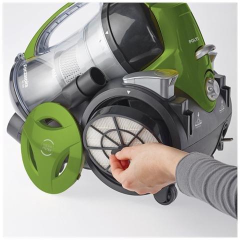 Polti MC330 Turbo Aspiradora a remolque sin saco Potencia 700 W capacidad 1.8 L color negro/verde: Amazon.es: Hogar