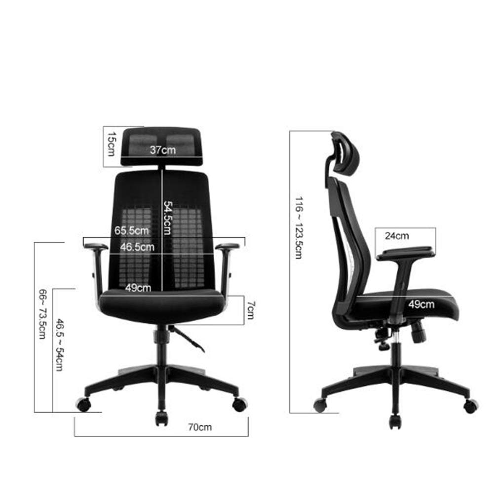 Ergonomic Design Rotate Office Chair Modern Racing Style Recline Mesh Gaming Chair with Adjustable Armrests Home Entertainment Furniture by MGJO