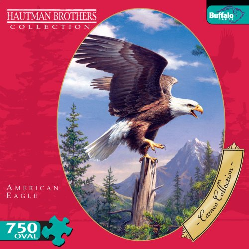 Cameo Collection American Eagle 750 Pieces Jigsaw Puzzle