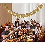 Friendsgiving Banner Burlap - Friends Thanksgiving Feast - Friendsgiving Party Bunting Banner - Thanksgiving Friends Party Decorations
