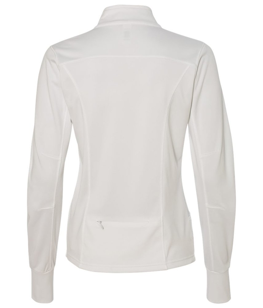DRIEQUIP Womens Poly-Tech Full-Zip Track Jacket-L-White by DRIEQUIP (Image #2)