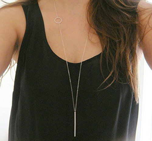 Long Bar Necklace - 2