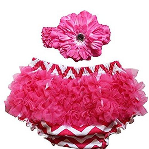 S roja diadema con Talla c Chevron Baby rosado Accessorystation Gaffes Pantalones Ride Girl Newborn wq8nx0YHv