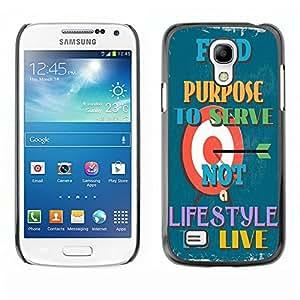 Dragon Case - FOR Samsung Galaxy S4 Mini i9190 - fine a surpose - Caja protectora de pl??stico duro de la cubierta Dise?¡Ào Slim Fit