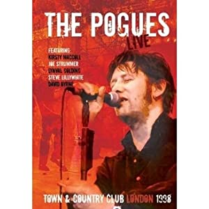 the pogues live at the town and country club london dvd the pogues dvd blu ray. Black Bedroom Furniture Sets. Home Design Ideas