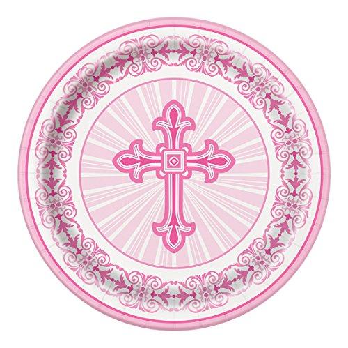 Radiant Cross Religious Dinner Plates