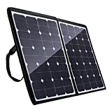[High Effiency] Poweradd 100W 18V 12V Bendable Solar Panel Charger Water/ Shock/ Dust Resistant Power Sunpower Solar Charger for RV, Boat, Cabin, Tent or Any Other Irregular Surface