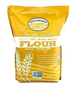 Amazon.com : Wheat Montana Flour Gold Whole Wheat Flour, 5