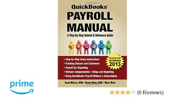 Quickbooks Payroll Manual Sharon Mccauley Brandon Morris Melody