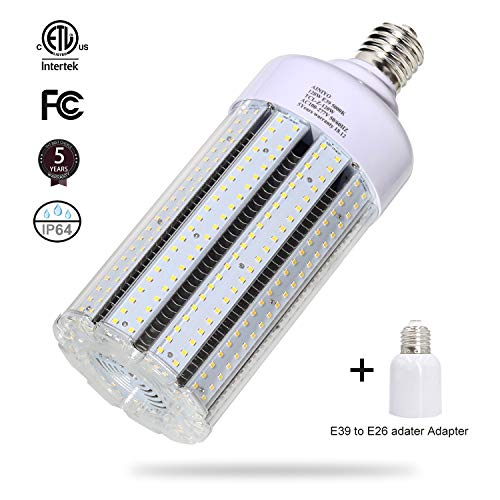 120W LED Corn Light Bulb Large Mogul Base E39 LED Bulb