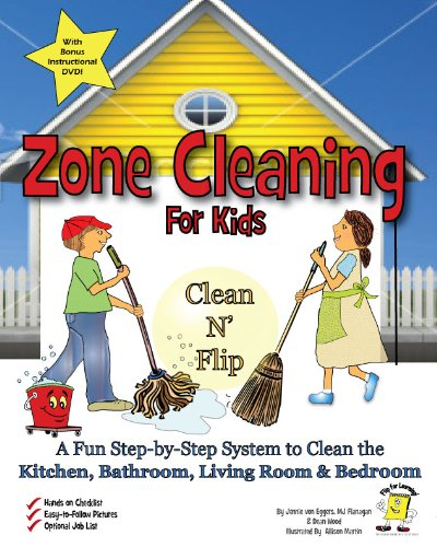 Zone Cleaning For Kids Clean 'n' Flip