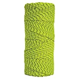 Kraft Tool BC354 Bonded Braided Mason's Line Tube, 500-Feet, Neon Green