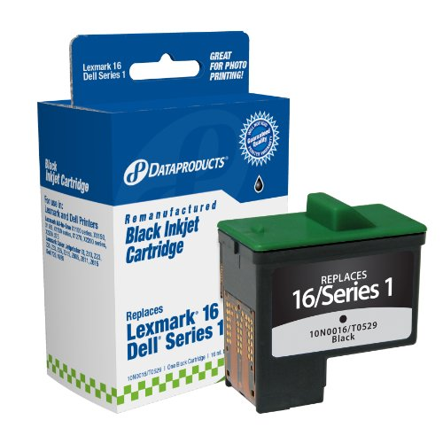 Dataproducts DPCD5878B Remanufactured Ink Cartridge Replacement for Dell T0529 (Series 1), Sharp UXC70B - Remanufactured Ink Compaq
