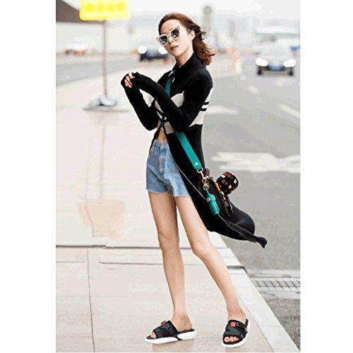 Mode Porter des Chaussons Taille 0 Sport 6 Femme de de Chaussures Pantoufles d'été Sandales wSSXzqY