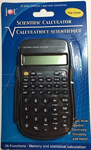 Scientific Calculator with Flip Cover by JOT