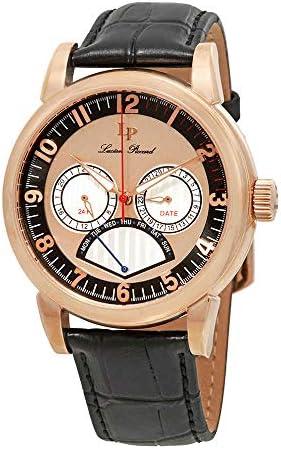 Lucien Piccard Men s LP-15051-RG-01 Analog Display Quartz Black Watch