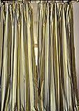 Atacama Tie top Linen sheer/gauze curtain (52″W X 84″L) Review