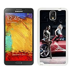 Samsung Note 3 Case,2015 Hot New Fashion Stylish World of Speed Girls White Case Cover for Samsung Note 3