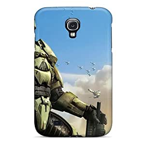 Tpu Case Cover For Galaxy S4 Strong Protect Case - Halo Wars New Game Design