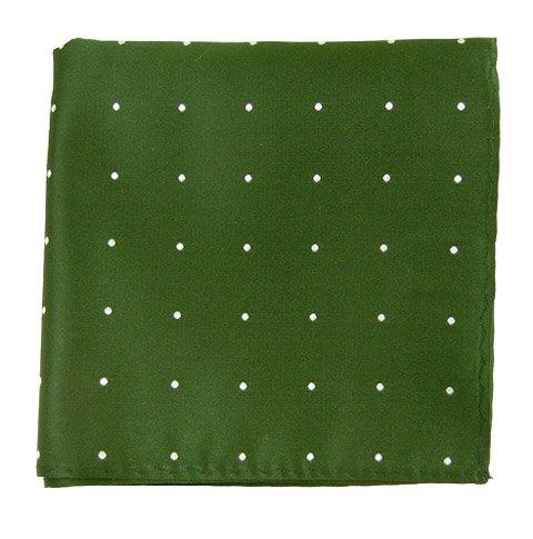 The Tie Bar Satin Dot 100% Woven Silk Pocket Square 0300000034