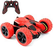 Rimila Remote Control Car Electric 4WD RC Stunt Car Off Road Vehicle 2.4Ghz Racing Cars 7.5Mph 360°Rotating Kids Toy Cars Br