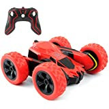 Rimila Remote Control Car Electric 4WD RC Stunt Car Off Road Vehicle 2.4Ghz Racing Cars 7.5Mph 360°Rotating Kids Toy Cars Brithday Gift (Battery Not Included)