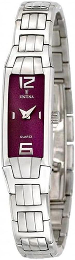 Festina F16210/4 - Reloj, Correa de Acero Inoxidable