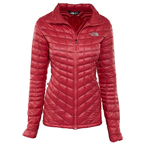 The North Face Women's Thermoball Full Zip Jacket (Large, Honeysuckle Pink) -