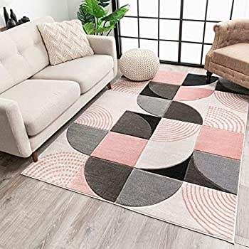Amazon Com Well Woven Barra Blush Pink Multi Color Modern