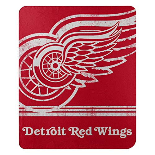 Detroit Red Wings Blanket - The Northwest Company NHL Fade Away Fleece Throw Blanket