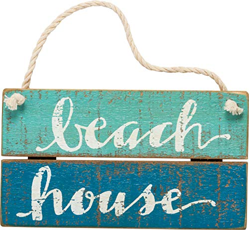 Primitives By Kathy - Slat Sign - Beach House ()