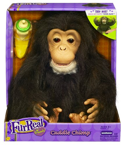 FurReal Friends Cuddle Chimp by FurReal (Image #1)