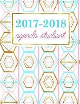 Agenda étudiant: Planning scolaire hebdomadaire : rose ...