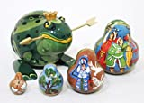 The Frog Princess Russian Nesting Doll 5pc./4''
