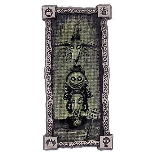 Disney Nightmare Before Christmas Lock, Shock, and Barrel Haunted Mansion Stretching Room Portrait Pin